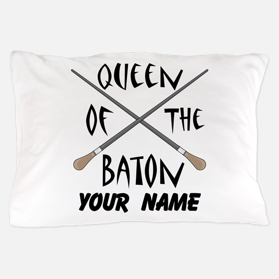 Funny Female Music Conductor Pillow Case