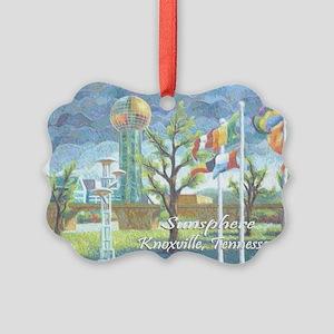 Sunsphere Picture Ornament