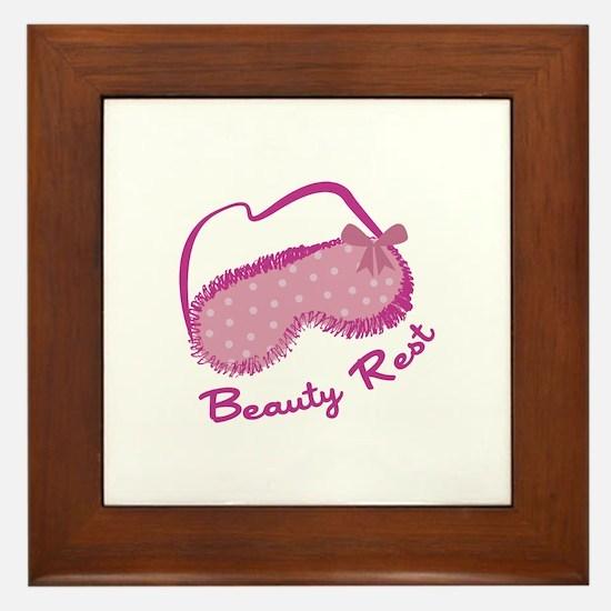 Beauty Rest Framed Tile