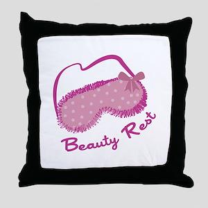 Beauty Rest Throw Pillow