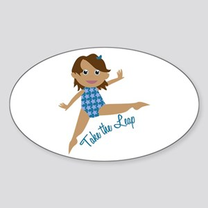 Take The Leap Sticker