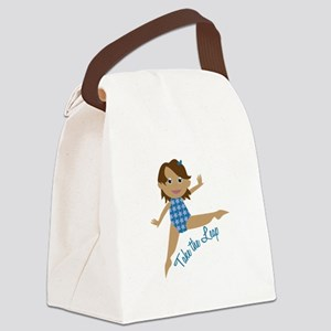 Take The Leap Canvas Lunch Bag