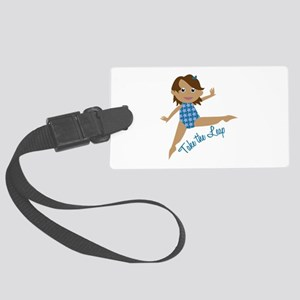 Take The Leap Luggage Tag
