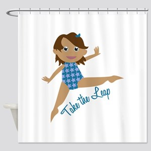Take The Leap Shower Curtain