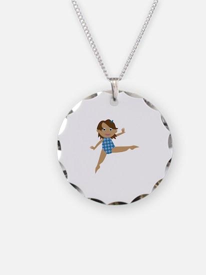 Gymnast Necklace