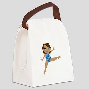 Gymnast Canvas Lunch Bag