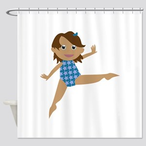 Gymnast Shower Curtain