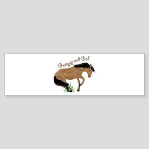Gettyup And Go Bumper Sticker