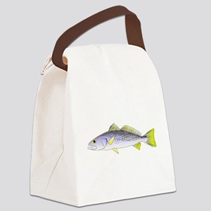 Weakfish c Canvas Lunch Bag