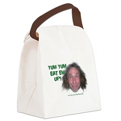 Yum Yum Eat Em Up! Canvas Lunch Bag