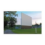 Beckys Drive In Screen 35x21 Wall Decal