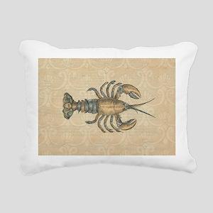 Vintage Maine Lobster scientific illustration Rect