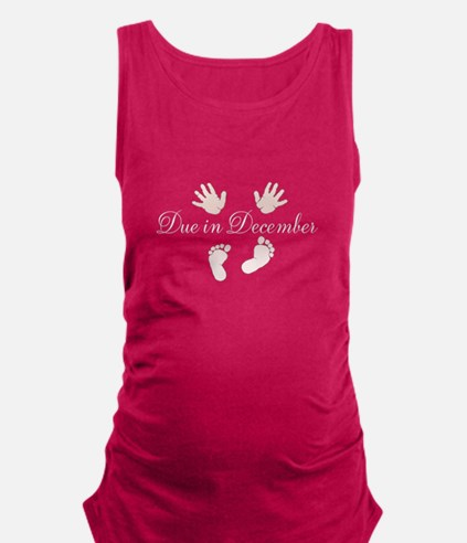 Custom Due Date Maternity Design Maternity Tank To