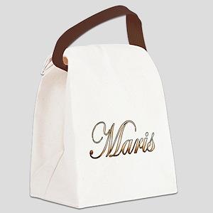 Gold Maris Canvas Lunch Bag