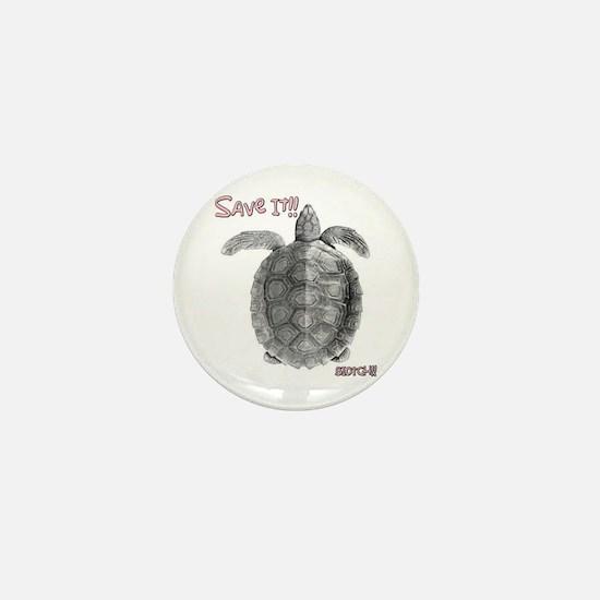 Save It!! Mini Button