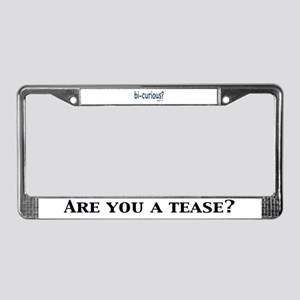 Tease Inc - License Plate Frame