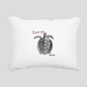 SAVE IT!! Rectangular Canvas Pillow