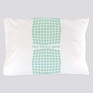 Fancy Mint Checked Pillow Case