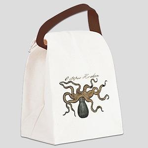Octopus Kraken vintage scientific illustration Can