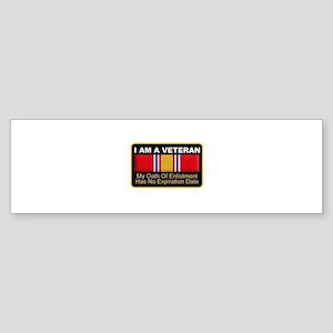 I am a veteran Bumper Sticker