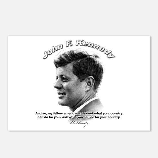 John F. Kennedy 03 Postcards (Package of 8)