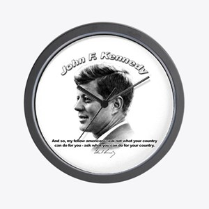 John F. Kennedy 03 Wall Clock