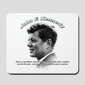John F. Kennedy 03 Mousepad