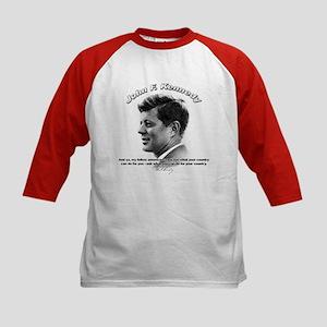 John F. Kennedy 03 Kids Baseball Jersey