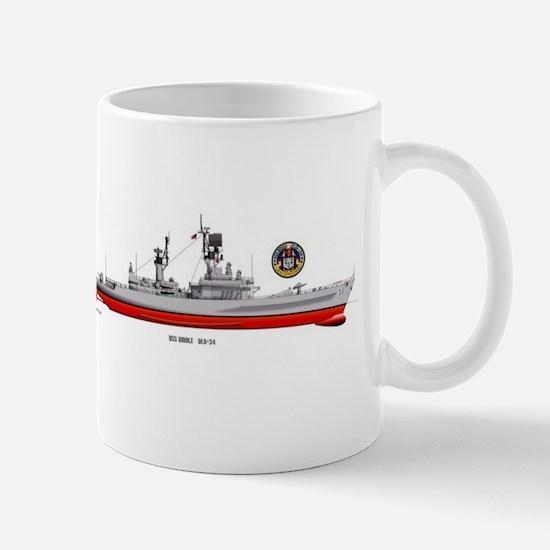 USS BIDDLE DLG34 Mugs