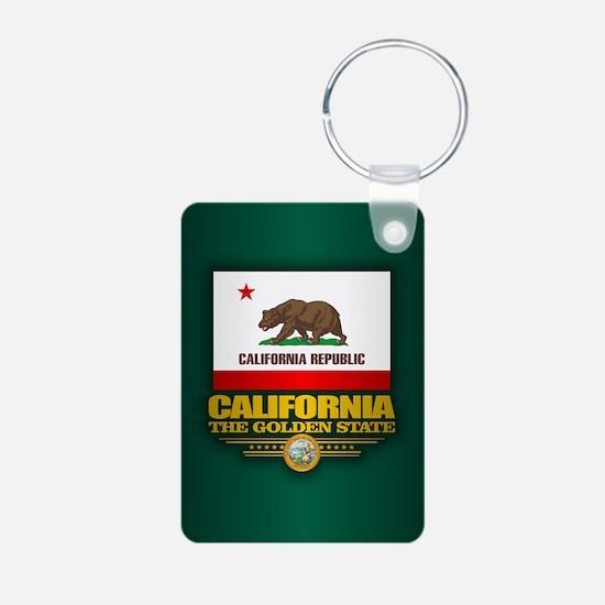 California Flag Keychains