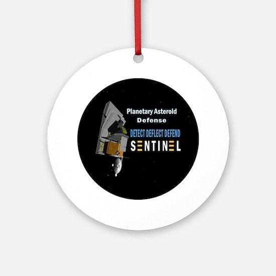 Sentinel Space Telescope Ornament (Round)