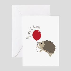 Up & Away Greeting Cards