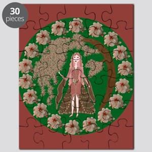 Rose Quartz Faerie Puzzle