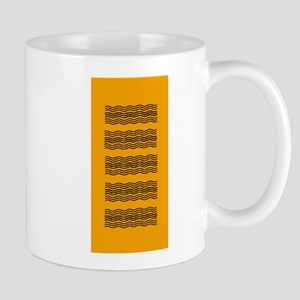 Bright Orange Waves Mug