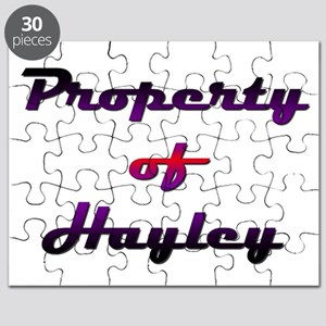 Property Of Hayley Female Puzzle