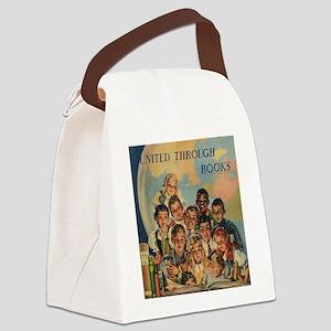 1944 Children's Book Week Canvas Lunch Bag
