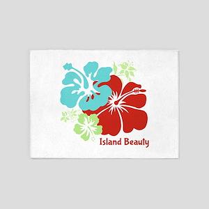 Island Beauty 5'x7'Area Rug