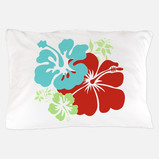 Hawaiian Hibiscus Pillow Case