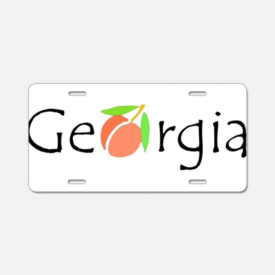 Unique Fruit Aluminum License Plate