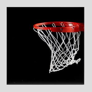 Basketball Hoop Tile Coaster