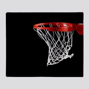 Basketball Hoop Throw Blanket