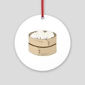 Dumplings Ornament (Round)