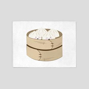 Dumplings 5'x7'Area Rug