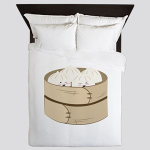 Dumplings Queen Duvet