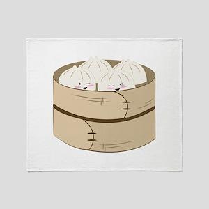 Dumplings Throw Blanket