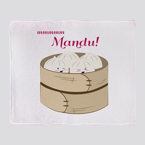 Mandu! Throw Blanket