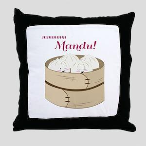 Mandu! Throw Pillow