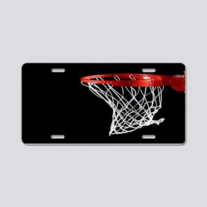 Basketball Hoop Aluminum License Plate