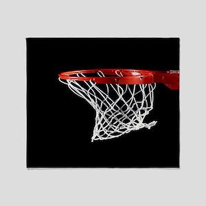 Basketball Hoop Throw Blanket
