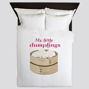 My Little Dumplings Queen Duvet